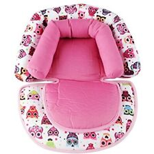 Infant Head Support For Car Seat, Baby Soft Neck Pillow, Pink