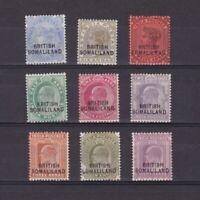 SOMALILAND 1903, SG# 18-30, CV £42, part set, MH
