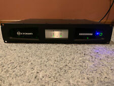Crown Dci2X1250N Amplifier (2ch x 1250W with Blu-Link) - Excellent Condition!