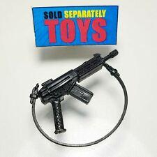 GI Joe 1987 Outback v1 black RIFLE machine gun strap weapon accessory part vtg