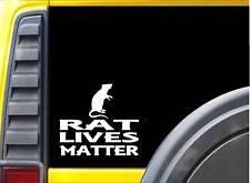 Rat Lives Matter Sticker k146 6 inch aquarium hamster decal