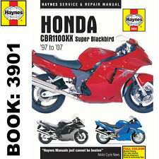 Honda CBR1100XX Super Blackbird 1997-2007 Haynes Workshop Manual