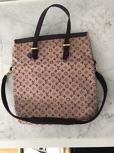 Authentic LOUIS VUITTON M92210 Monogram mini Francoise SP1011 Handbag canvas...
