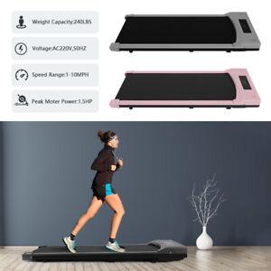 Running Pad Treadmill Motorised Walking Machine Electric Power Fitness Exercise