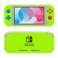 solid Simply Green for NINTENDO SWITCH LITE *TEXTURED VINYL* ! SKINS DECALS WRAP