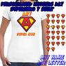 Personalizado superhéroe - Camiseta de mujer - Regalo Del Día de la madre