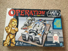 Hasbro Operation Star Wars Edition R2D2 Board Game. Complete. R2D2 Noises!