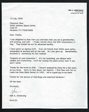 Neil Armstrong signed letter Zarelli Authenticated Apollo 11 Astronaut