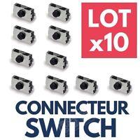 LOT 10 Switch Bouton Poussoir Interrupteur pour Clé Télécommande Plip OPEL