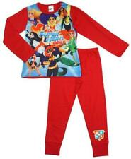 Vêtements ensemble pyjama coton mélangé pour fille de 5 à 6 ans