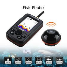 Smart 45M Fish Finder Wireless & Rechargeable Sonar Sensor River Lake Fishfinder