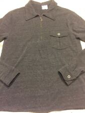 AG Adriano Goldschmied Jersey Half Zip Shirt Small