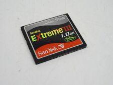 SanDisk Extreme III CompactFlash CF Card  / 1.0 GB