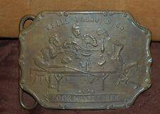 Wells Fargo & Co. Poor Man's Creek Brass Belt Buckle- Tiffany