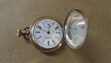 American Waltham Ladies Pocket Watch 1895 7 jewels 7130573 Silver Case