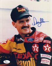 Davey Allison #0  8x10 Signed W/ JSA NASCAR Racing 031818