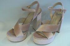 RIVER ISLAND Alexa Platform Sandals Heels Size 8 - 41