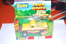 DINKY TOYS LAND ROVER CUSTOMISED REF. 202 NEUF/BOITE NEW/BOX COULEUR RARE 1/43