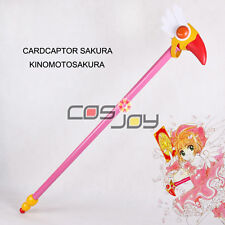 "Cosjoy Clamp Card Captor Sakura 36"" Wand Cosplay II figure-0096"