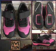 ADIDAS Sz 9 Five Ten Women Shock Pink HELLCAT PRO Mountain Bike Shoe 5324 BNIB