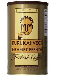 Kurukahveci Mehmet Efendi Turkish Coffee, 17.6 Ounce Pack of 1