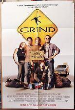 GRIND 27x40 Original* 20% OFFPoster 2003 ADVANCE S/S *Brody / Vogel -SKATEBOARD