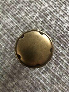 Brass Cupboard Door Handles/ Knobs With Screws- X14