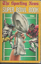 1984 Sporting News Super Bowl Book