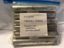 Cannoli Forms 12 Pieces  Vintage