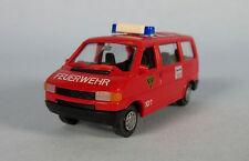 ROCO Volkswagen T4 Van Fire Dept. (Kasten Feuerwehr) 1/87 HO Scale Plastic Model