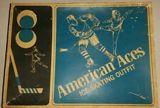 Vintage American Aces Mens Ice Skates Size 11 with Original Box