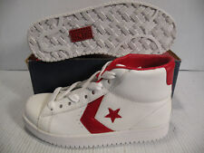 CONVERSE DR. J CLASSIC HI SNEAKERS MEN SHOES WHITE/RED 1G584 SIZE 7 NEW
