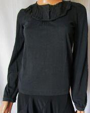 ***SEE BY CHLOE' MAGLIA Maglietta T-SHIRT TG.38 USA 2 COTONE Colore grigio fumo