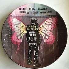 New Collector Plate Royal Doulton Street Art- Beautiful Things Pure Evil