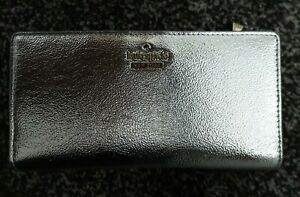 New With Tags Kate Spade Silver Metallic Large Purse