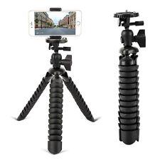 Portable Flexible Table-Top Mini Tripod ball head QR for Camera DV GoPro Phone