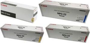 Canon NPG-22 full set of 4 colorToner