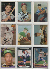 NATE COLBERT SIGNED 1994 TED WILLIAMS CARD COMPANY CARD PADRES