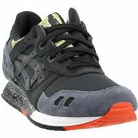 ASICS Gel-Lyte III  Casual   Shoes - Black - Mens