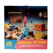 Springbok School of Fish 400 Pc Educational Family Puzzle Big & Small Pieces