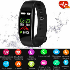 Sport Fitness Smart Watch Band Heart Rate Oxygen Blood Pressure Tracker Activity