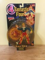 Human Torch- Fantastic Four (4) -Action Figure Toy - 1996 Toy Biz - Marvel - NEW