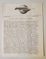 Frehley's Comet-January 1989-Fan Club Newsletter-Volume 7-Kiss-Ace Frehley