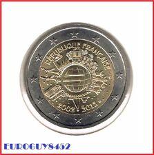FRANKRIJK - 2 € COM. 2012 UNC - TIEN JAAR EURO