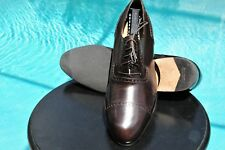 Salvator Ferragamo  Burgundy Patented Leather Cup Toe Dress shoes  Size 10.5 D