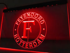 Feyenoord Rotterdam 12x8 Inches Led Sign Bar Pub