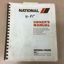 national crane 500c manual