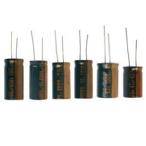 Capacitance Electrolytic Radial Capacitor High Frequency Low ESR New