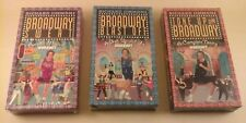 Richard Simmons Broadway Series Classic Aerobic Toning Exercise Vhs 3 Tapes New