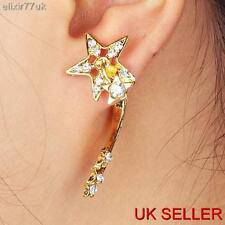 HOT GOLD STAR STUD EARRING ELEGANT MODERN FUNKY EAR CUFF PUNK LOVER CUTE GIFT UK